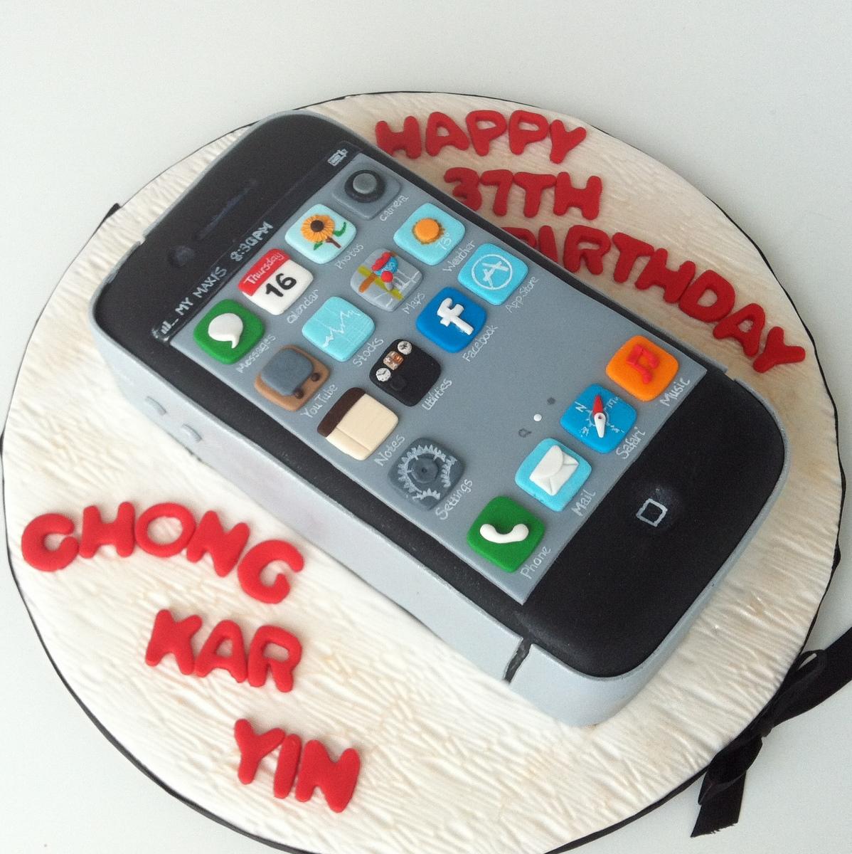 TeaRoom by Bel Jee iPhone Cake
