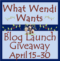 What Wendi Wants Blog Launch Giveaway