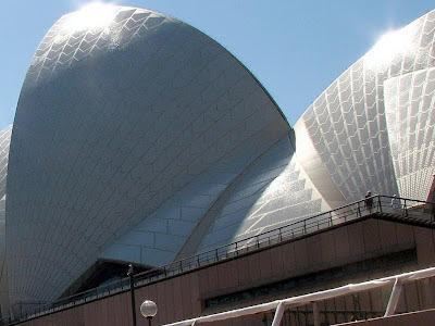 The sails of Sydney Opera House, by Mike Hitchen