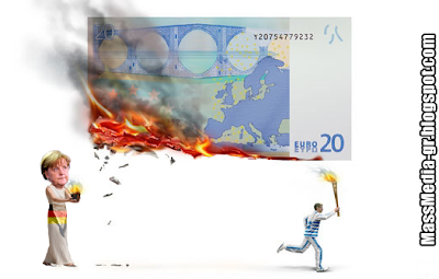 economist greece euro Ελλάδα ευρώ καμένο ΟΝΕ λαμπαδηδρόμος
