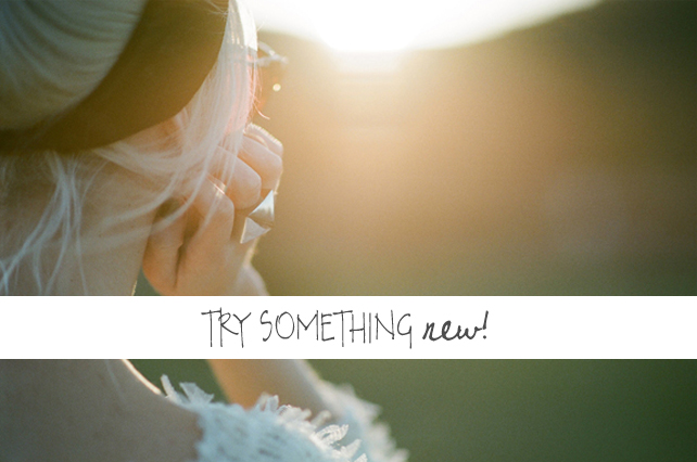 Try Something New - Have Your Photo Taken