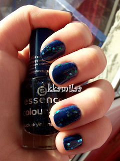 Essence Colour&Go nr 78 - Blue Addicted