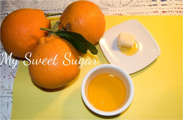 glassa all'arancia