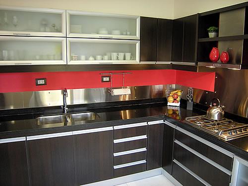 Ixtus amoblamientos muebles de cocina melamina for Muebles de cocina negro