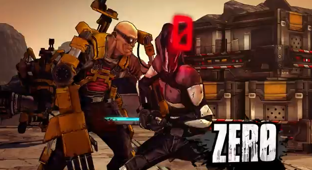 Borderlands 2 New Playable Character Zero