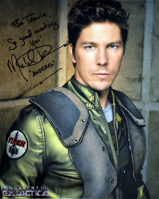 Dragon Con 2015 | Walk of Fame | Michael Trucco
