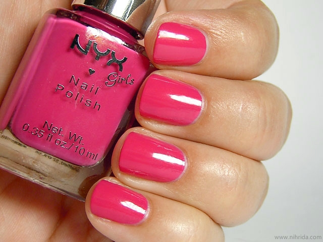 NYX Girls Nail Polish in Venus