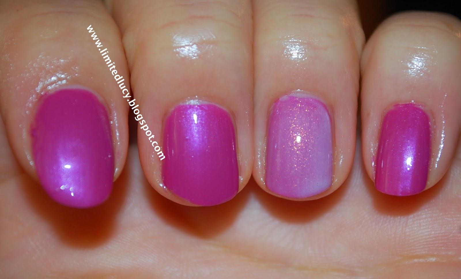 LUCY brb: Inglot O2M Nail Polish - #699 - nail polish swatch