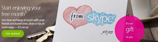 Skype கட்டணம் செலுத்தி பயன்படுத்தும் இலவசமாக 30 நாட்களுக்கு