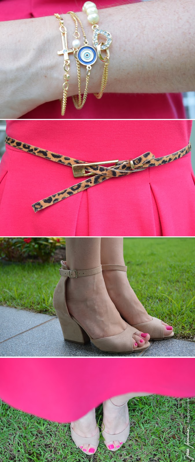 Look, vestido pink, blogueira, blogger, brasil, joinville, natal, sc