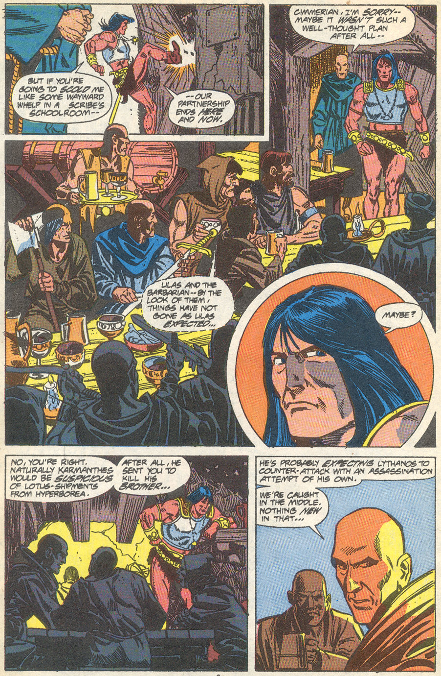 Conan the Barbarian (1970) Issue #231 #243 - English 6