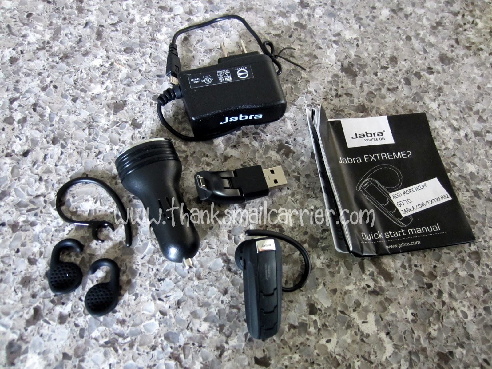 Jabra extreme2 headset pieces