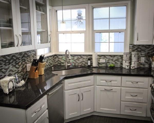 Corner Sink Kitchen Design Ideas ~ Corner kitchen sink design ideas interior living room