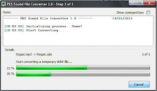 Download PES Sound Converter v.1.8