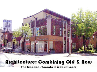 Architecture: Combining Old with New in the Junction area Toronto, by wobuilt