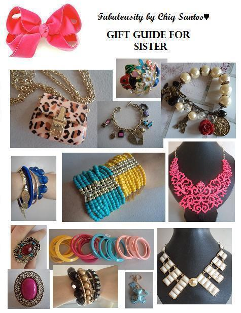 here are some gift ideas for your sister or for your bff or girl friend who is like a sister to you you can find all these items at my online shop