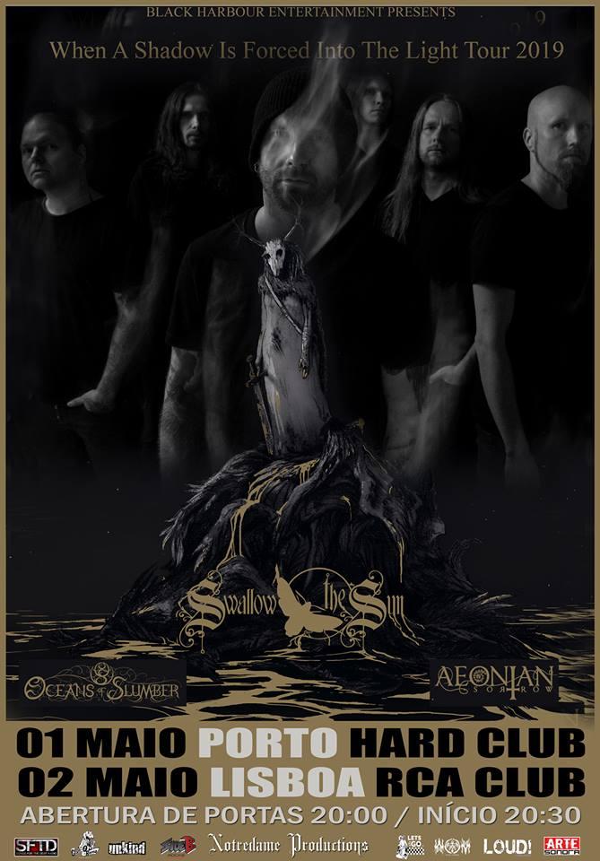 Swallow the Sun / Oceans Of Slumber / Aeonian Sorrow @ Hard Club