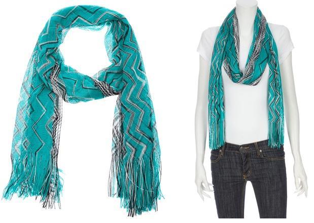 Crochet Zig Zag Scarf : Emma Davidson 4/05/2011 12:56:00 PM Missoni , Scarf , scarves