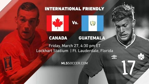 Links Canadá vs Guatemala en VIVO