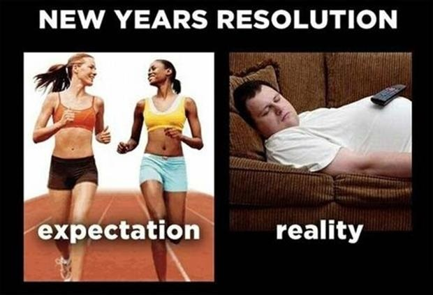 funny new year resolution images
