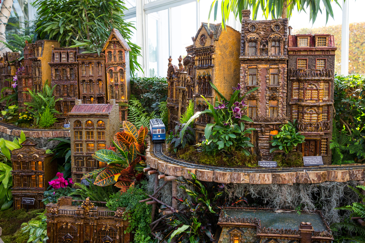 Holiday Train Show At New York Botanical Garden November 21   January 18
