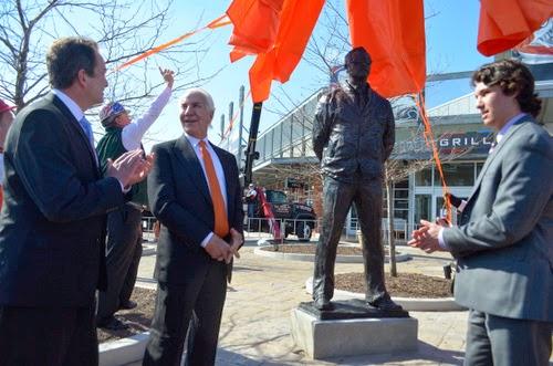 Fred Shero statue in Philadelphia, PA
