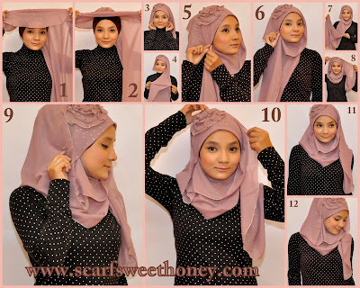 Informasi Mengenai Tutorial Hijab Segi Empat Modern | Buy Local ...