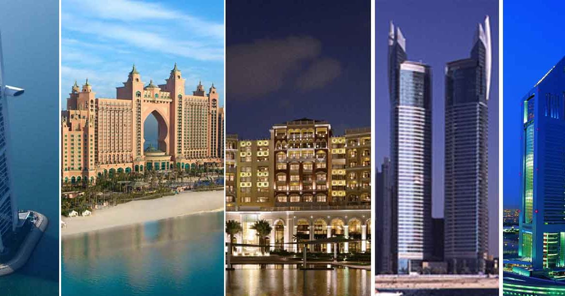 Top 5 luxury hotels in dubai dubai luxurious hotels for Biggest hotel in dubai