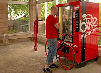 Self-Service Bicycle Vending Machine Seen On www.coolpicturegallery.us