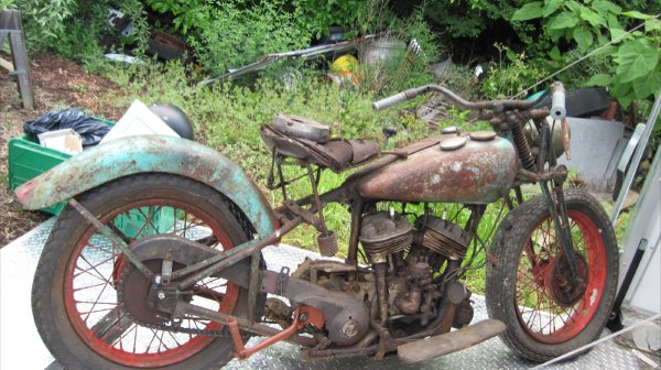 Belinfante Indian Motorcycles 1936 Indian Sport Scout As Is