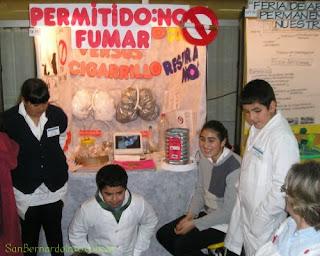 Feria de ciencias en San Bernardo