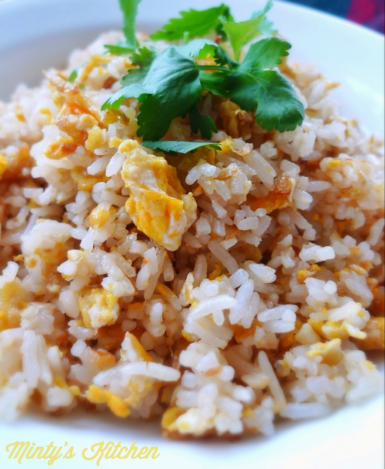 Minty's Kitchen: Ginger Fried Rice