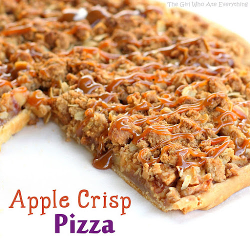 ... , anything involving apple crisp in the form of pizza can't be bad