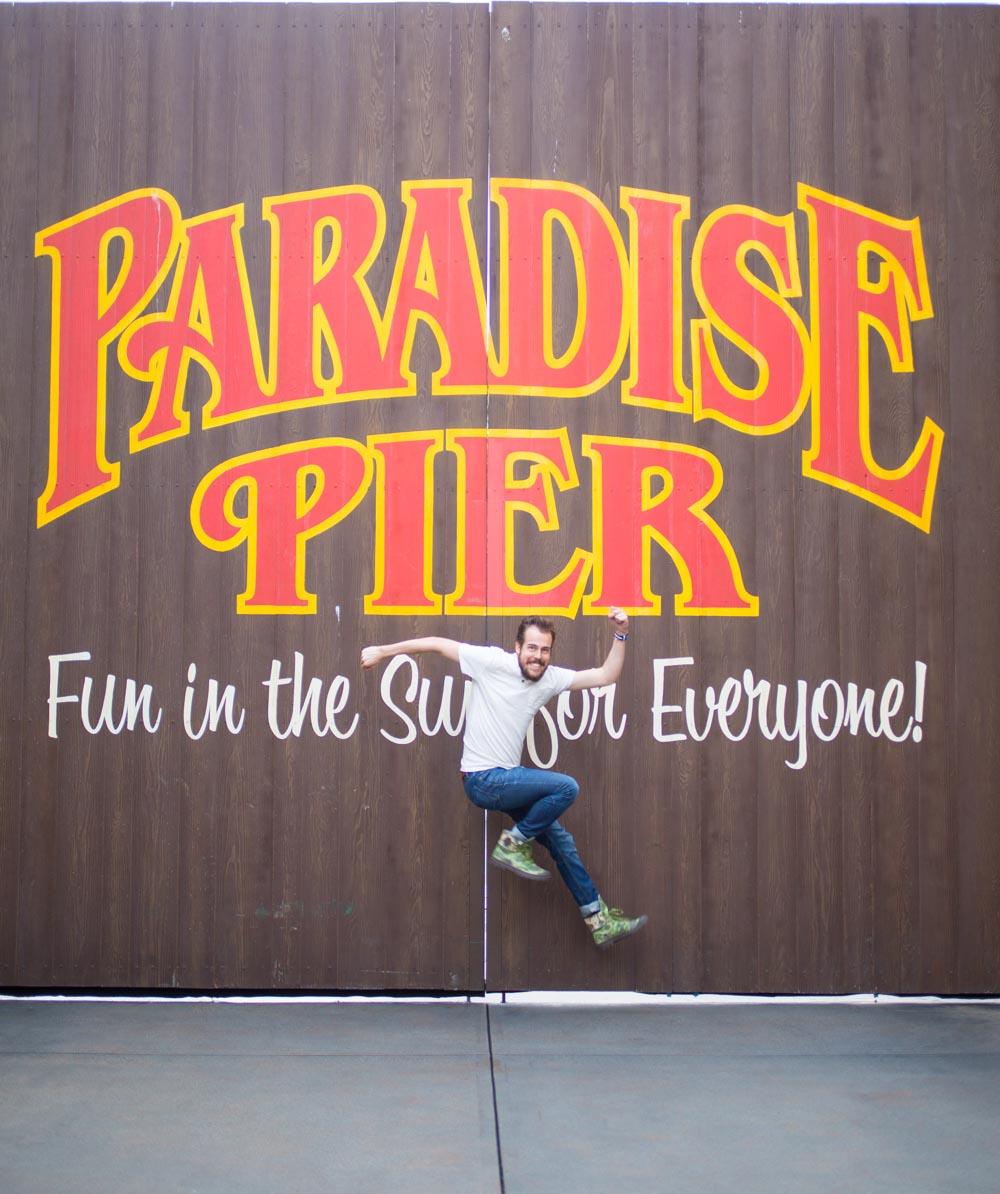 Disneylands California Adventure Paradise Pier