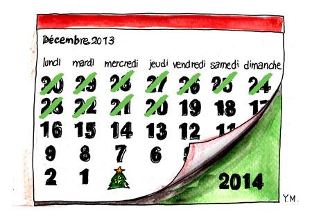 Calendar 2013 by Yukié Matsushita