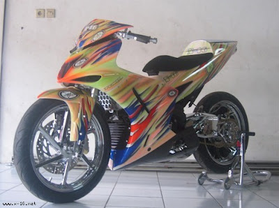 Warna sticker asik Modif Jupiter mx