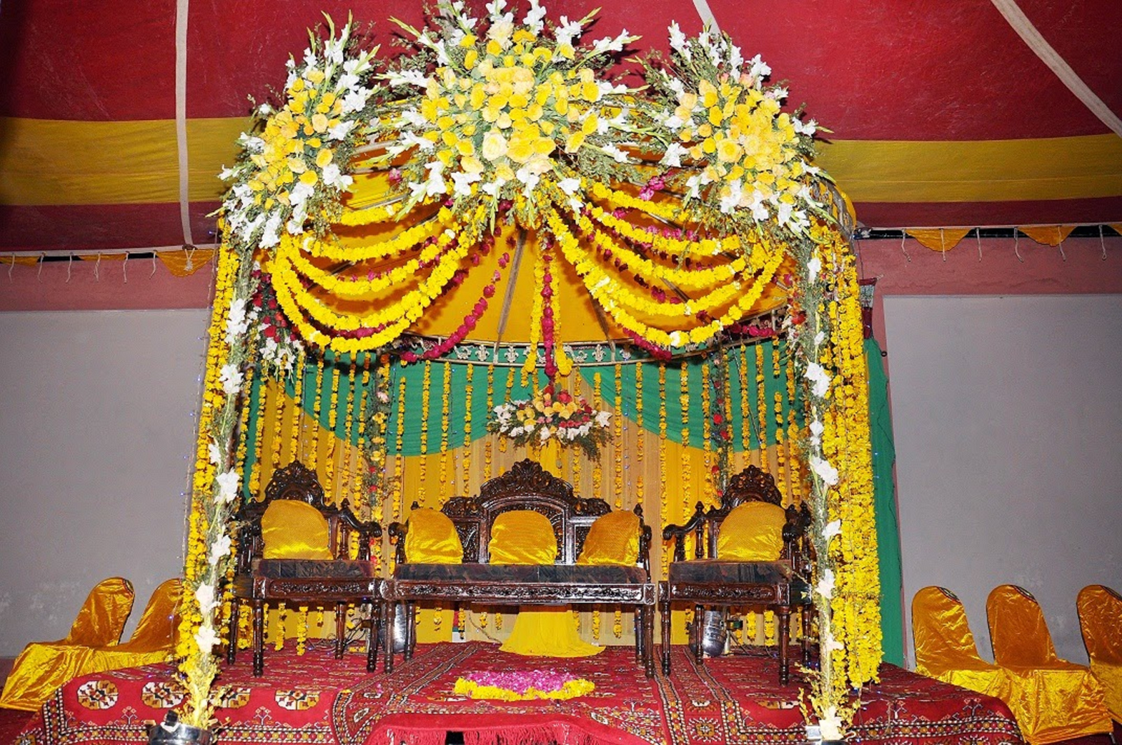 Best hd every wallpapers mayoon function stage decoration for Stage decoration