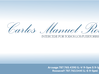 4 DE MAYO: DIA DEL VENERABLE CARLOS MANUEL RODRIGUEZ