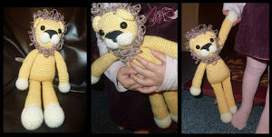 Free Amigurumi Lion Pattern : Free amigurumi patterns free stuffed animal crochet pattern