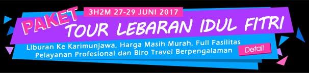PAKET KARIMUNJAWA LEBARAN IDUL FITRI 3H2M 27-29 JUNI 2017