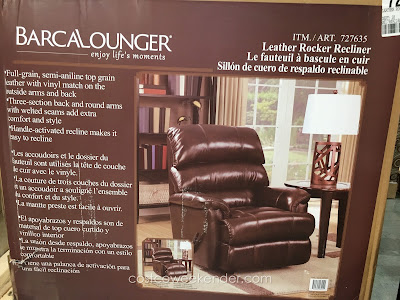 Barcalounger Leather Rocker Recliner: your home throne