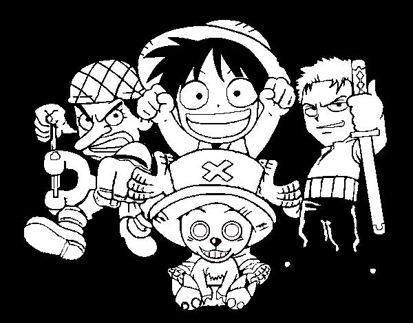 One Piece Ausmalbilder Ausdrucken