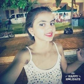 Andressa Pereira Sousa comemora seus 11 anos