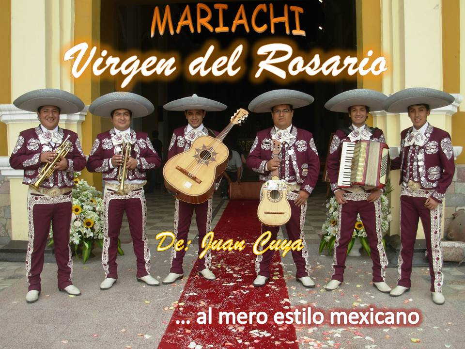 Mariachis Per Lima | Precio desde S/200.00 Serenata Virgen Del Rosario | Charros
