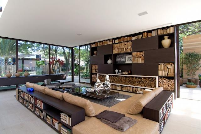 Современный интерьер дома, Бразилия