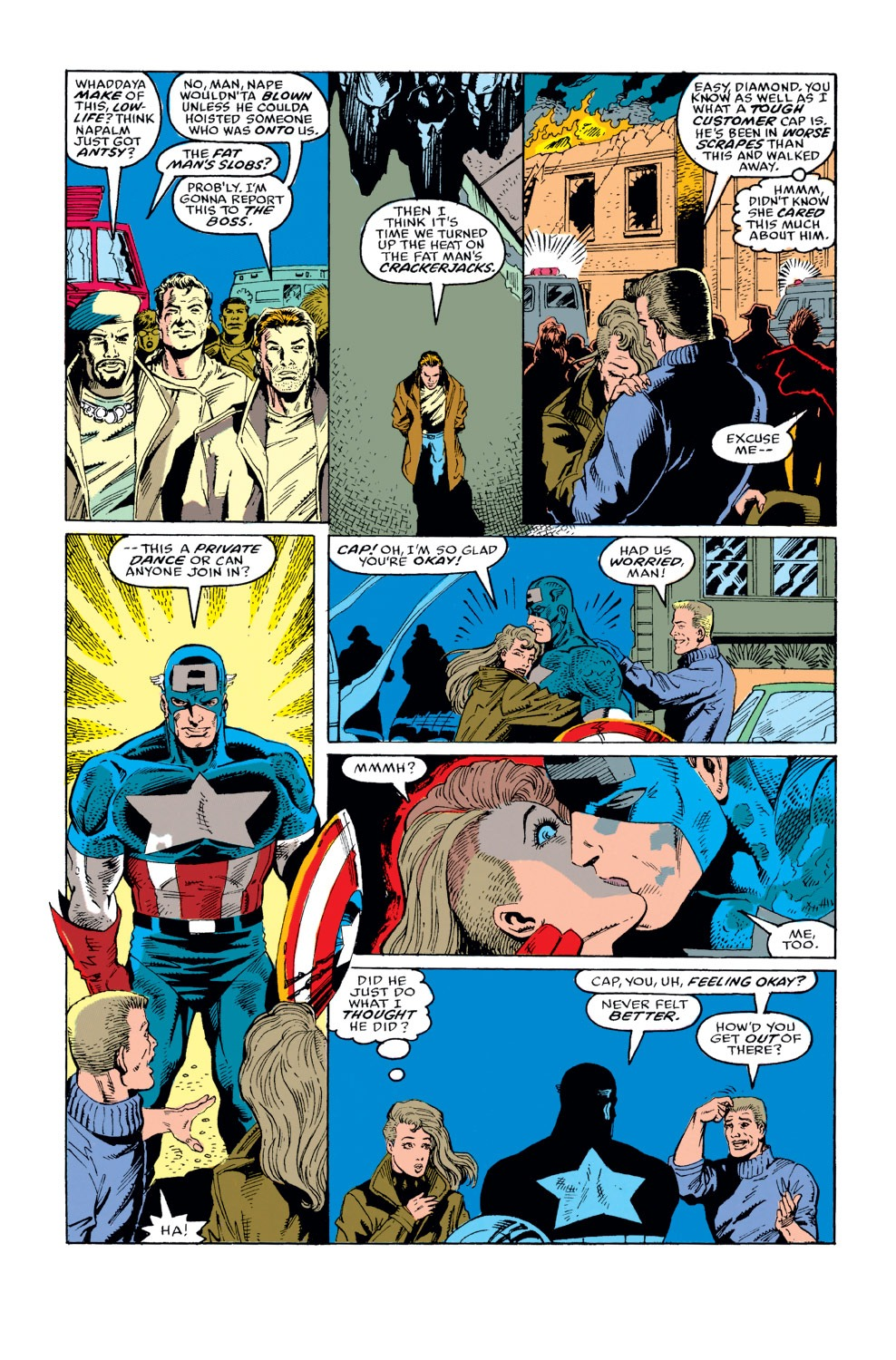 Captain America (1968) Issue #373 #306 - English 5