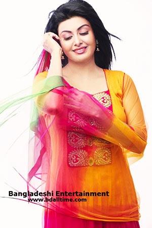 Model and Actress Ayesha Salma Mukti