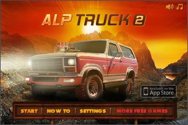 Truck Game : Alpine Truck 2