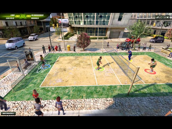 Super Vôlei Brasil games voleibol