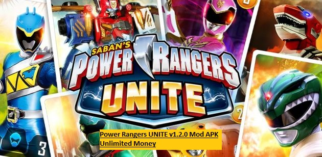 Power Rangers UNITE v1.2.0 Mod APK Unlimited Money